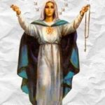 Matka Boża zawsze jak przchodzi do ludzi to prosio Odmawiajcie różaniec co dziennie